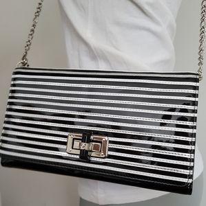 White House Black Market trifold crossbody purse